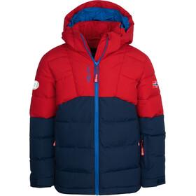 TROLLKIDS Gryllefjord Jacket Kids, rojo/azul